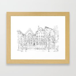 Bcn 8 Framed Art Print