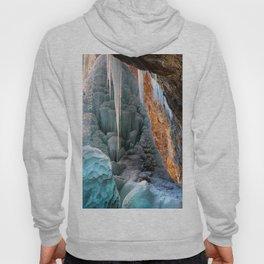 Frozen Waterfall  Hanging Lake Winter Colorado Hoody