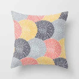 Flower Infusion Throw Pillow
