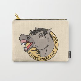 Horse Laugh Carry-All Pouch