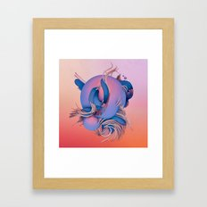 BILIRUBIN (everyday 08.17.16) Framed Art Print