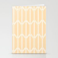 honeycomb Stationery Cards featuring Honeycomb by madelyn bilsborough