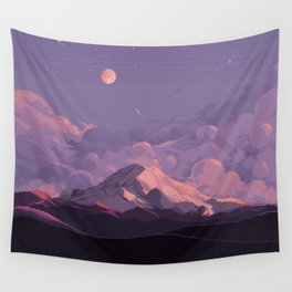Mt Rainier Wall Tapestry