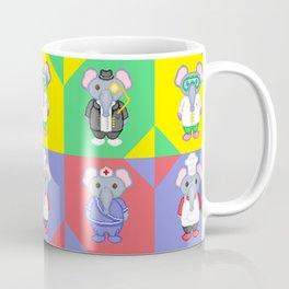 Elephant Career Costume Print 2 Coffee Mug