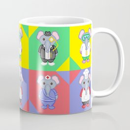 Elephant Career Costume Print 2 Coffee Mug