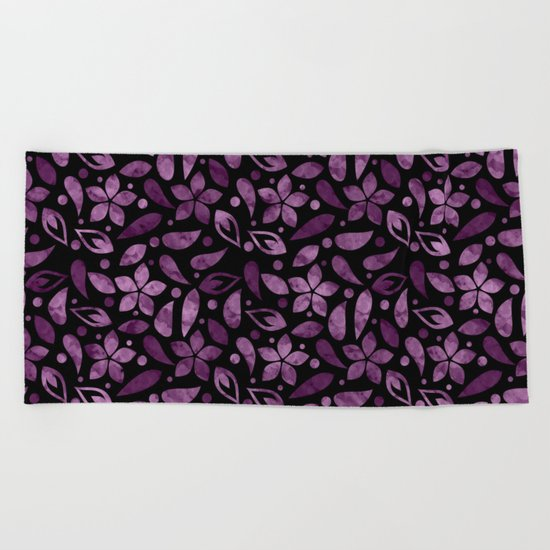 Colorful Lovely Pattern XVV Beach Towel