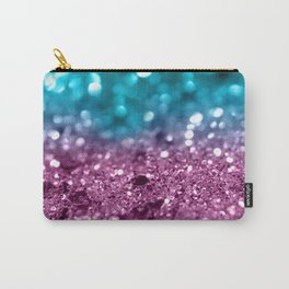 Tropical Beach Lady Glitter #5 #shiny #decor #art #society6 Carry-All Pouch
