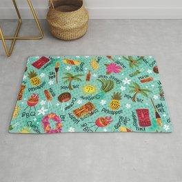 It's A Tiki Party! Rug
