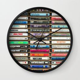 Tapes n Tapes Wall Clock