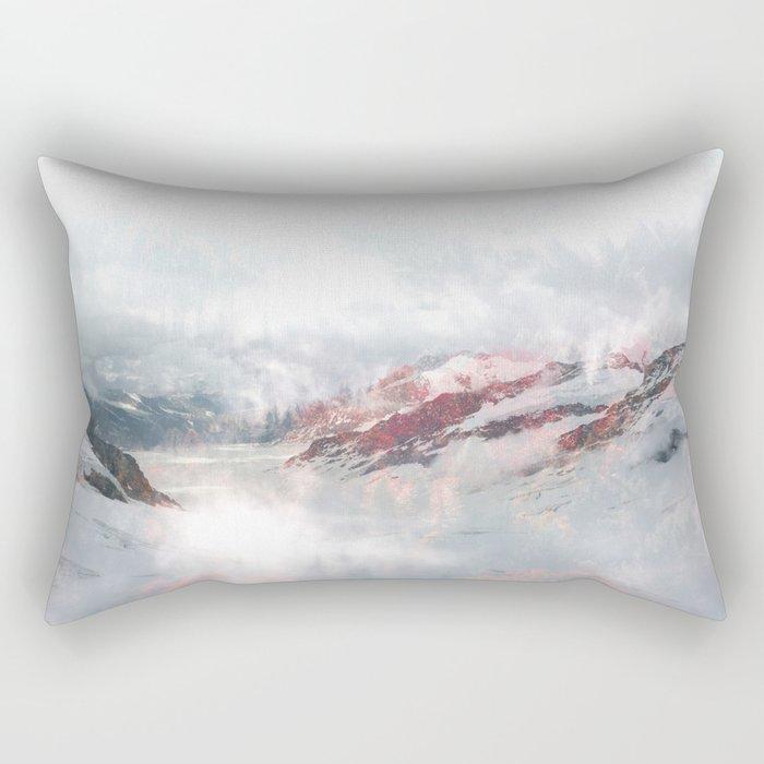 Foggy Dreams Rectangular Pillow