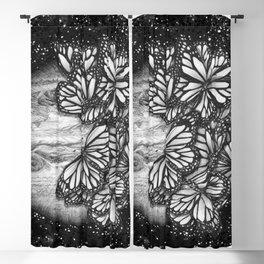 Jupiter's Butterflies Blackout Curtain
