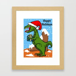 Sant-rex Framed Art Print