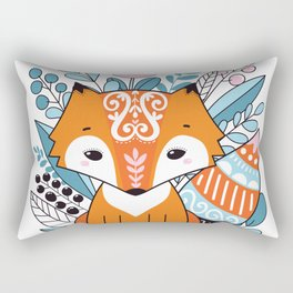Cute fox Rectangular Pillow