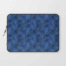 Holiday Blues at Night Laptop Sleeve