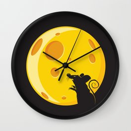 Bloodmouse Wall Clock