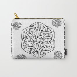 Celtic Knot Snowflake Carry-All Pouch