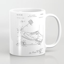 Drum Beating Mechanism Patent Coffee Mug