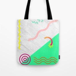 Digital Pulse Tote Bag