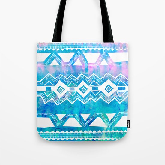 PATTERN {Tribal 002} Tote Bag