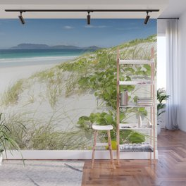 Beach with white sand and turquoise water in Cabo Frio - Brasil Wall Mural