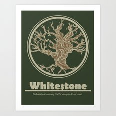 Whitestone Art Print