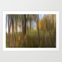 Movement in Nature VII Art Print