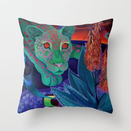 Whispers of the night. Throw Pillow