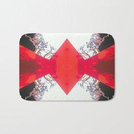 Diamond Crevasse  Bath Mat