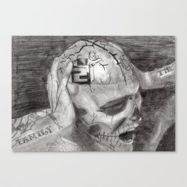 Zombie Boy- Rick Genest Canvas Print