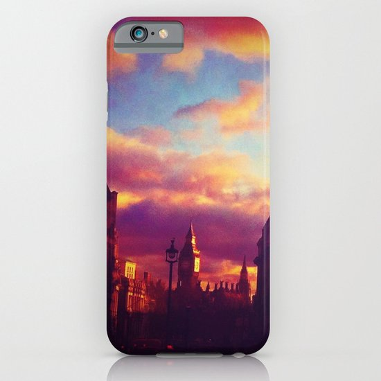 London Sunset iPhone & iPod Case