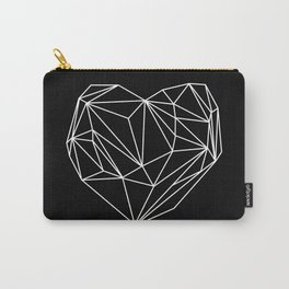 Heart Graphic (Black) Carry-All Pouch