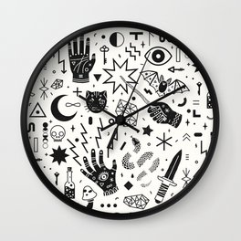 Witchcraft II Wall Clock