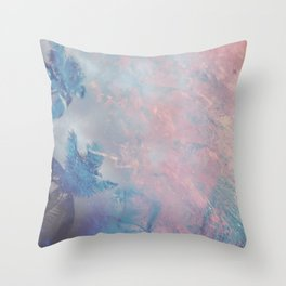 DESERT ICE Throw Pillow
