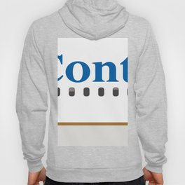 Plane Tees - Continental Airlines Hoody