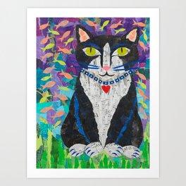 Tuxedo Dream Art Print