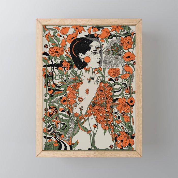 Daughter Framed Mini Art Print