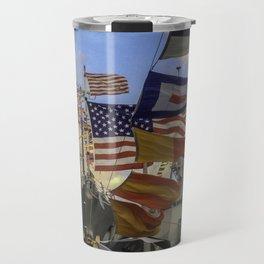 Full Flagged Ship Travel Mug