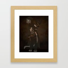 Korat Framed Art Print