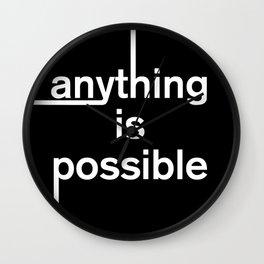 optimistic quote Wall Clock