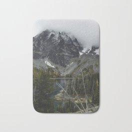 Alpine Lake in Washington Bath Mat