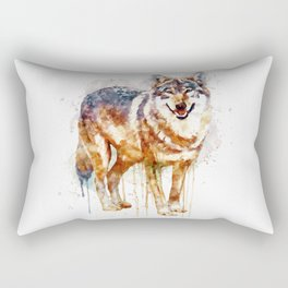 Alpha Wolf Rectangular Pillow