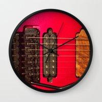 custom Wall Clocks featuring Custom Love by Gary Lee Hutchings