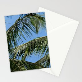 African Palm Flowers Stationery Cards