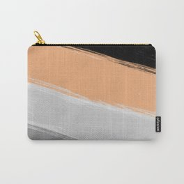 River sand , abstract , striped Carry-All Pouch