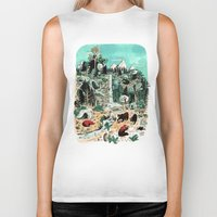 canada Biker Tanks featuring Wild Canada by Mathilde George