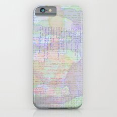 Words and Water Paint Slim Case iPhone 6s