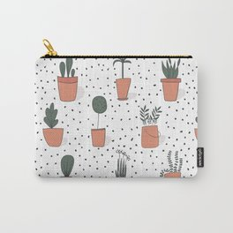 Drawing Garden Pots Carry-All Pouch