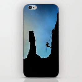 Mountaineer Before The Stars iPhone Skin