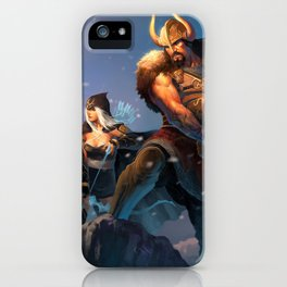 League of Legends-Tryndamere and Ashe iPhone Case
