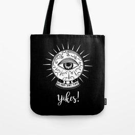 Yikes! Crystal Ball Tote Bag